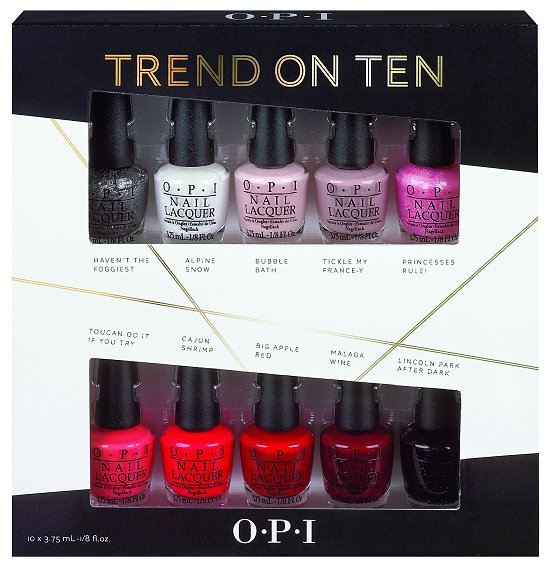 Opi Trend On Ten Amp Sheer To The Top Holiday Gift Sets