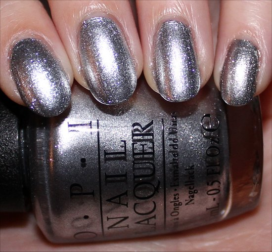 OPI Unfrost My Heart Gwen Stefani Holiday Swatches