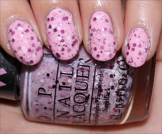 The Power of Pink OPI Pink of Hearts 2014