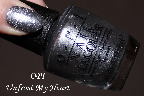 Unfrost My Heart OPI Gwen Stefani Holiday Collection