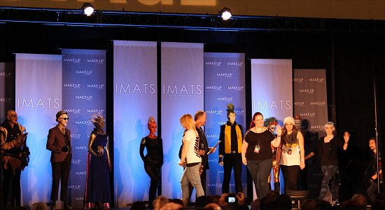 IMATS Toronto 2014 Battle of the Brushes Makeup Artists