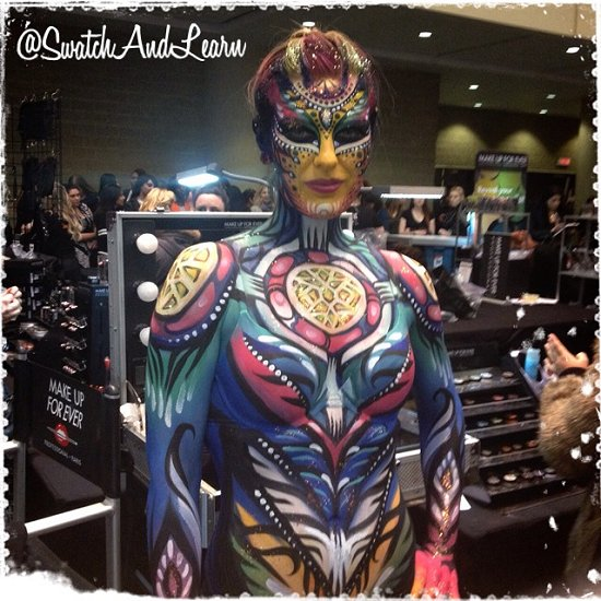 IMATS Toronto 2014 Body Painting Designs