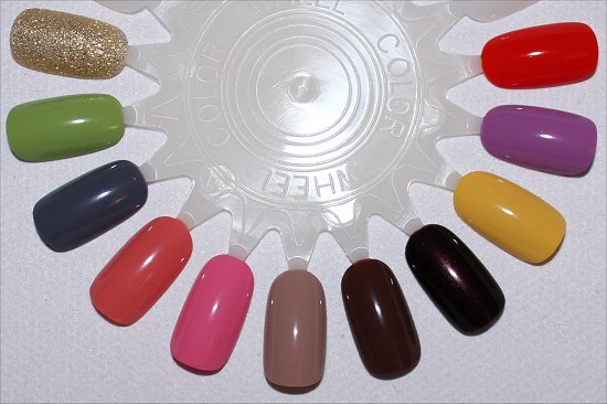 Nicole by OPI 2015 Collection Swatches