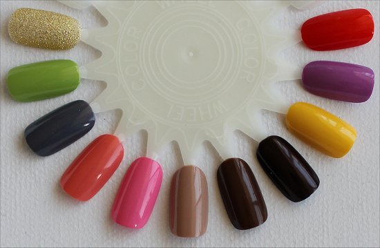 Nicole by OPI Collection 2015 Swatches