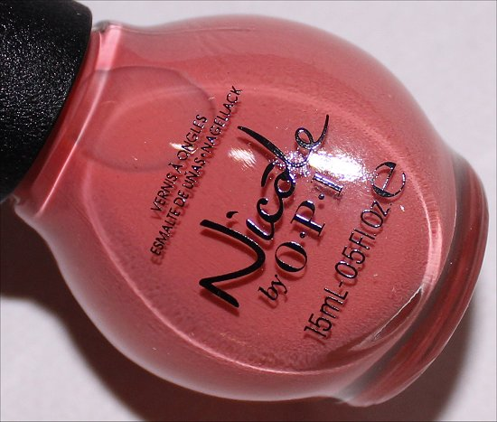 Nicole by OPI Who Are You Calling a Shrimp Nicole by OPI 2015 Collection