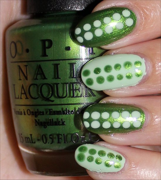 OPI My Gecko Does Tricks & OPI OPI That's Hula-rious Swatch