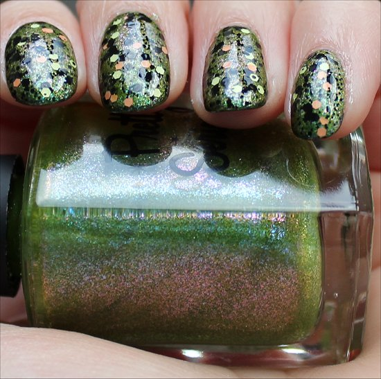 Pretty Serious Swatch And Learn Halloween Nails