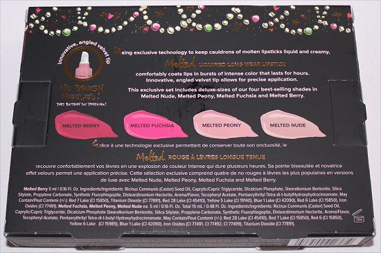 Too Faced Melted Kisses The Ultimate Liquified Long Wear Lipstick Set Review