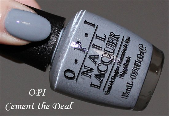 Cement the Deal by OPI Swatches