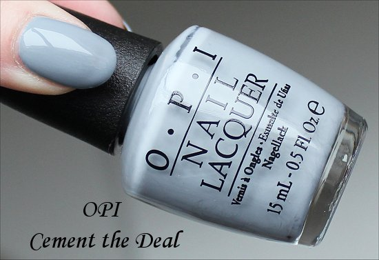 OPI Cement the Deal Swatch & Photos