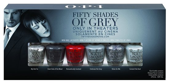 OPI Fifty Shades of Grey Collection Mini Set