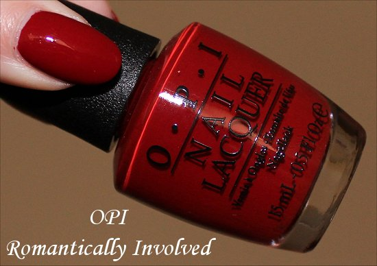 OPI Romantically Involved Swatch, Review & Photos