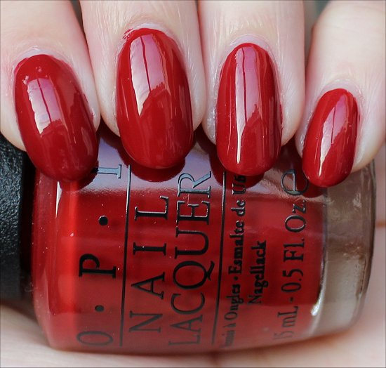 OPI Romantically Involved Swatch & Review