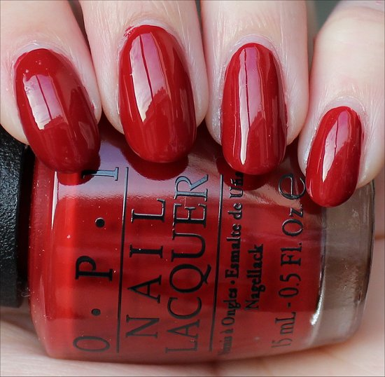 OPI Romantically Involved Swatch