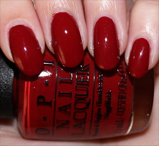 OPI Romantically Involved Swatches & Photos