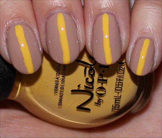 Striped Nail Art Tutorial SwatchAndLearn Step 3