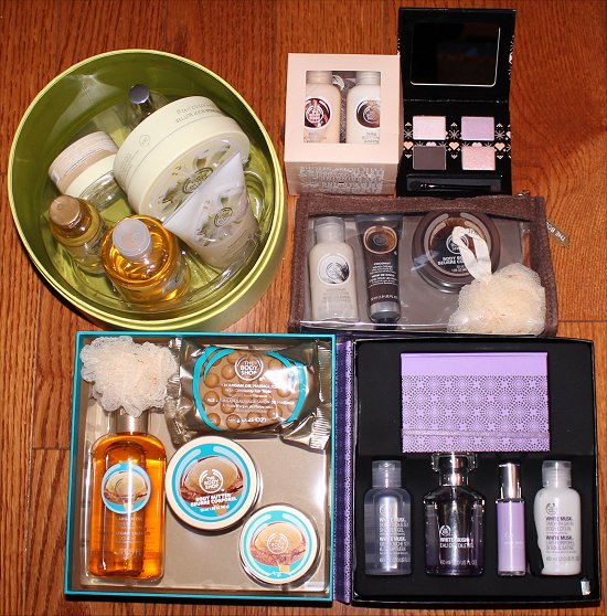 The Body Shop Christmas Gift Sets