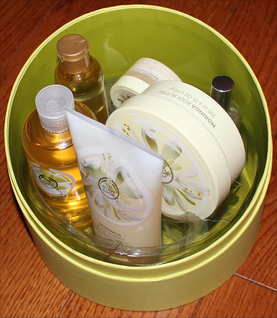 The Body Shop Ultimate Luxuries Moringa Gift Set