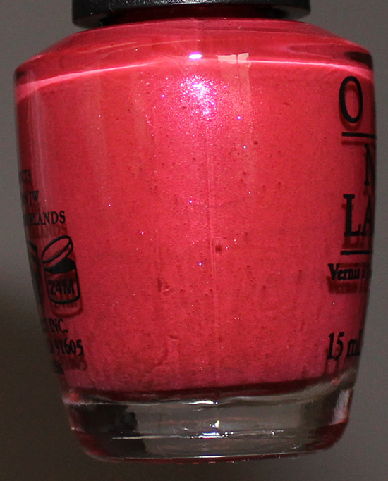 Go with the Lava Flow by OPI Hawaii Collection 2015
