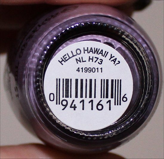 Hello Hawaii Ya OPI Hawaii Collection