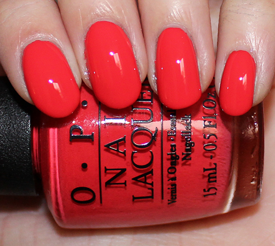 OPI Aloha from OPI Swatch Hawaii Collection Swatches