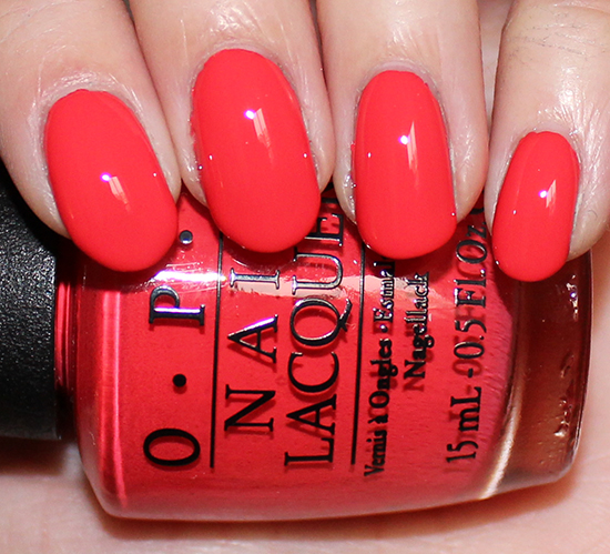 OPI Aloha from OPI Swatches & Pictures