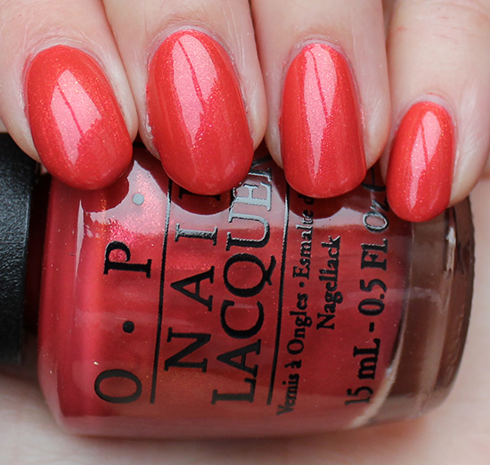 OPI Go with the Lava Flow Review & Swatches