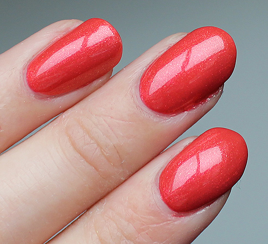 OPI Go with the Lava Flow Swatches