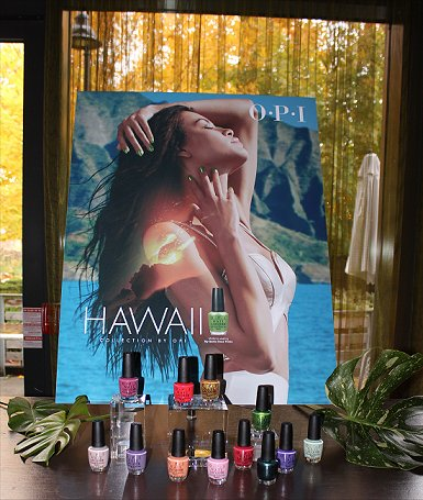 OPI Hawaii Collection Media Launch
