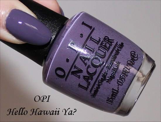 OPI Hello Hawaii Ya Hawaii Collection 2015