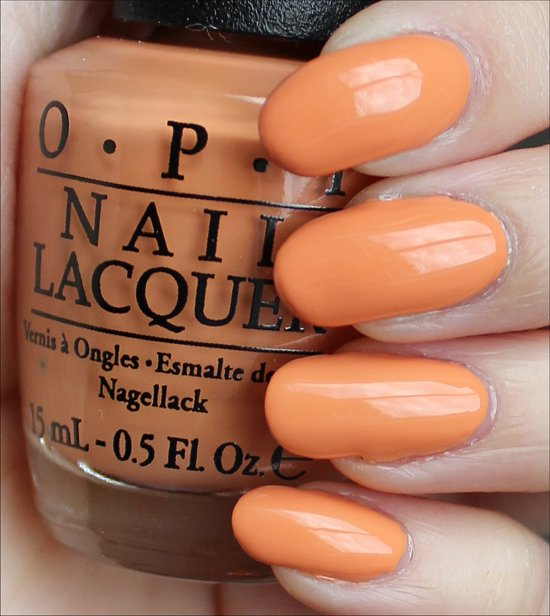OPI Is Mai Tai Crooked Swatches & Review