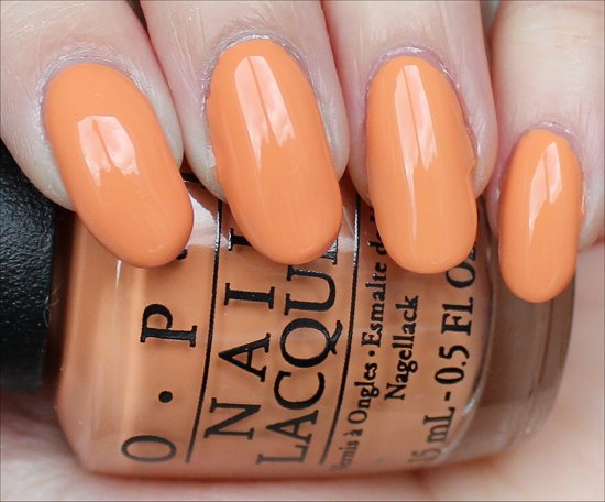OPI Is Mai Tai Crooked Swatches