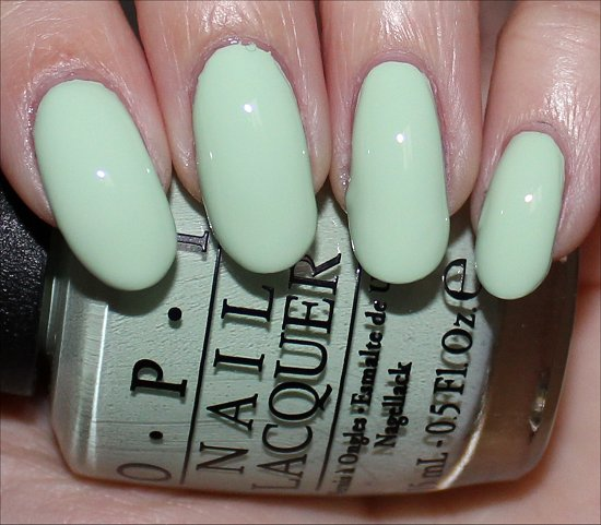 OPI That's Hula-rious Swatch OPI Hawaii Swatches