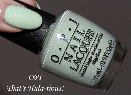 That's Hula-rious by OPI Hawaii Collection 2015 Swatches