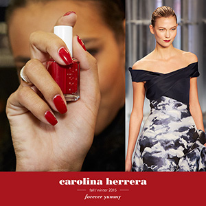 Essie New York Fashion Week Carolina Herrera