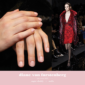 New York Fashion Week 2015 Essie Diane von Furstenberg