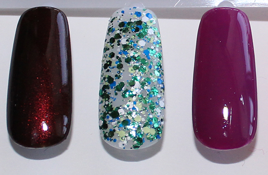 Nicole by OPI Coca Cola Collection Swatches Swatch 1