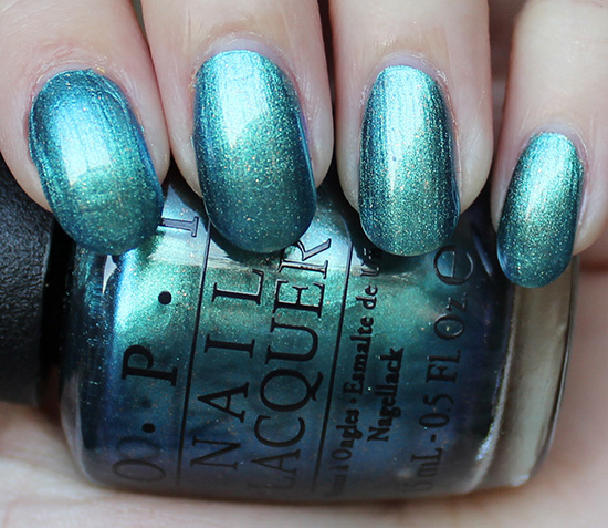 OPI Hawaii This Color's Making Waves Swatches & Review