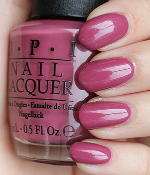 Opi Just Lanai Ing Around Swatches Review