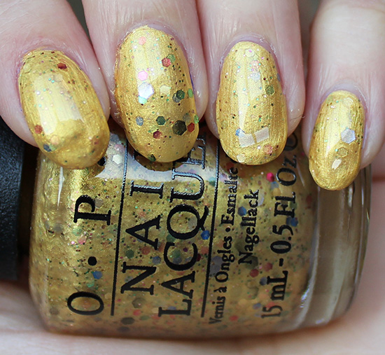 OPI Pineapples Have Peelings Too Swatch & Photos
