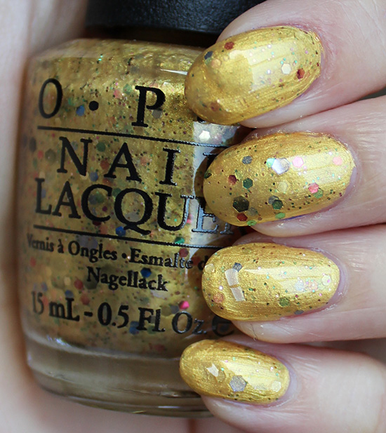 OPI Pineapples Have Peelings Too Swatches & Review