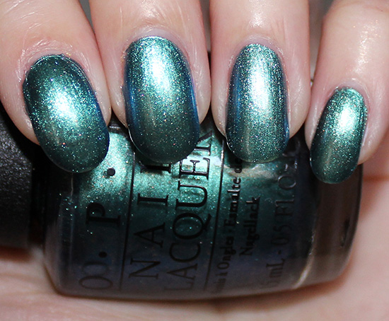OPI This Color's Making Waves Swatch OPI Hawaii Swatches