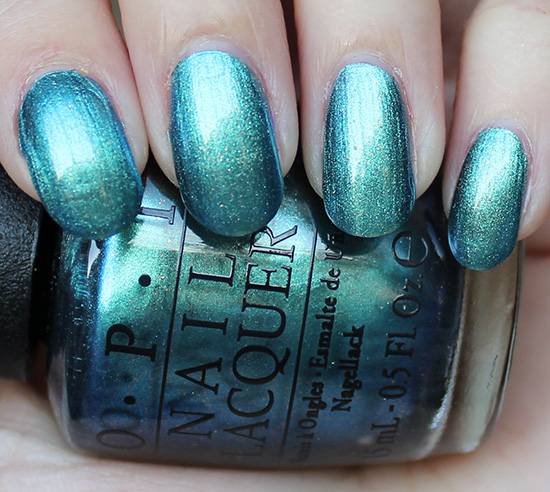OPI This Color's Making Waves Swatch & Review