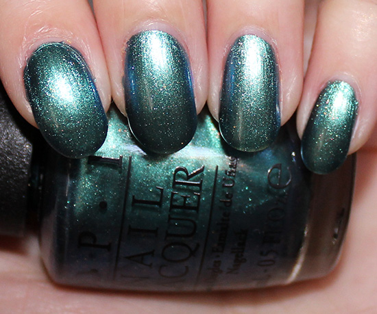 OPI This Color's Making Waves Swatches OPI Hawaii Swatch