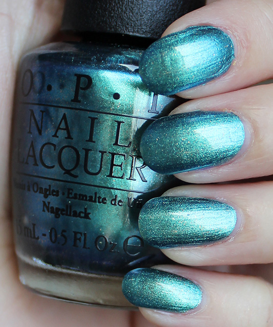 OPI This Color's Making Waves Swatches & Review