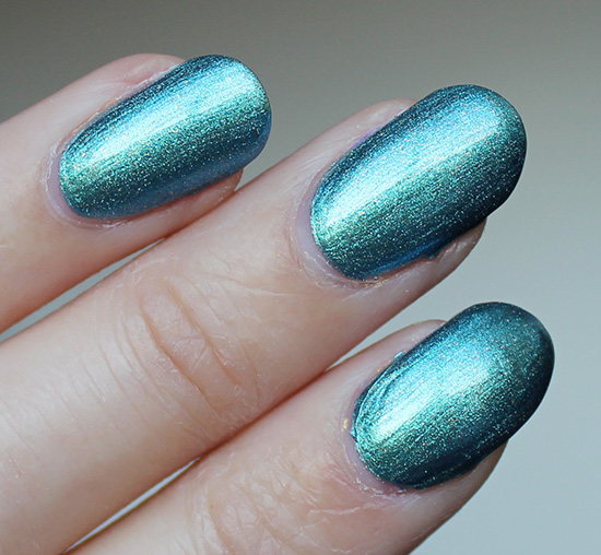 OPI This Color's Making Waves Swatches