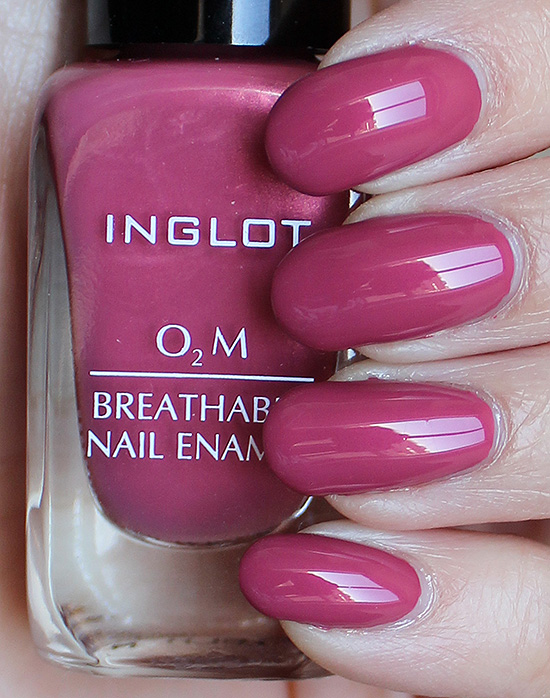 INGLOT O2M Breathable Nail Enamel 682 Swatches & Review | Swatch And ...