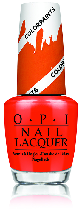 OPI Chromatic Orange Color Paints Blendable Nail Lacquer