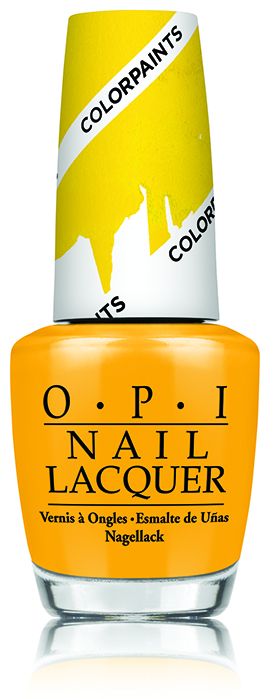 OPI Primarily Yellow OPI Color Paints Blendable Nail Lacquer