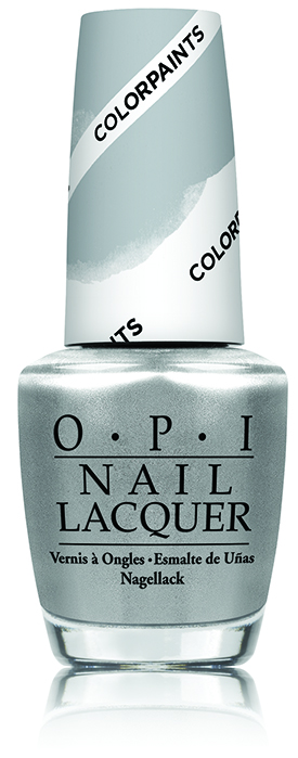OPI Silver Canvas Color Paints Blendable Nail Lacquer